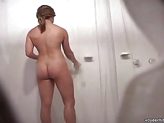 amateur shower hidden camera