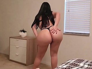 big ass big tits brunette